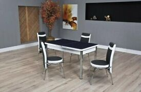 DISCOUNTED PRICE - TURKISH DINING TABLE WITH 6 CHAIRS