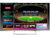 "Panasonic 55"" TX-55AS740B Ultra Thin Smart 3D 1080p Full HD TV with Built in Wi-Fi £445 ono"