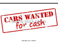 CARS for cash ££ call today for a quotation on your vehicle