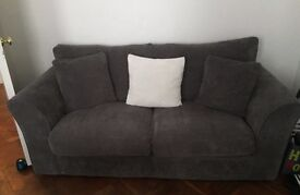 Year Old Grey 2 seater sofa - NEED GONE BY 26TH MAY