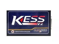 Kess v2 remapping tuning tool with case and lap top