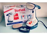 TEFAL Access Steam DR8085 Hand Steamer - Blue & White. ( Iron )