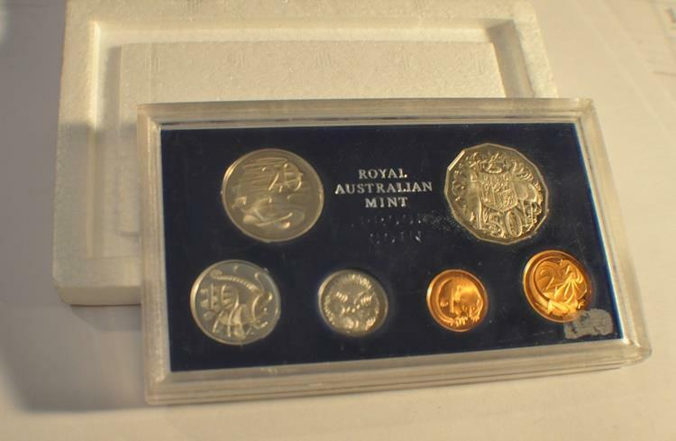 1981 Australia 6 Coin Proof Set
