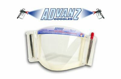 1one Advanz Lens Cover Spray Foam Rig Spray Paint Mask Goggle C045