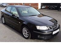 2005 (05) SAAB 9-3 LINEAR 1.9 TiD DIESEL 6 SPEED SALOON CAR, FULL SERVICE HISTORY, IMMACULATE