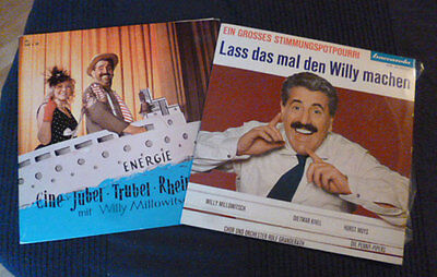 2x10 inch Vinyl Schallplatten Karneval Willy Millowitsch Köln Muys Penny Pipers