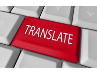 TRANSLATOR - English/ Arabic & Arabic/ English - & PROOFREADER