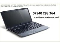 laptop pc printer upgrade and repair from £30