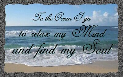 (To The Ocean), sign,plaque, Gift, vacation, relaxing, sand, beach, wall decor