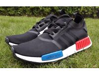 NewBlack Adidas NMD Boost Trainers
