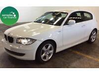 ONLY £188.62 PER MONTH WHITE 2010 BMW 116D 2.0 SPORT 3 DOOR DIESEL MANUAL