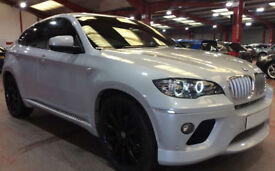 Silver BMW X6 3.0TD auto 2009 xDrive35d FROM £67 PER WEEK!