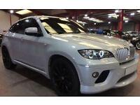 Silver BMW X6 3.0TD auto 2009 xDrive35d FROM £67 PER WEEK!