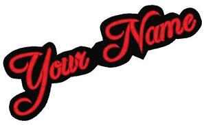 1-Custom-Embroidered-Name-Patch-Felt-5-Personalized-Contour-Motorcycle-Tag-Iron