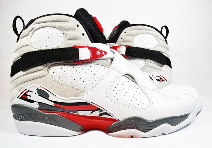 Mens Air Jordan OL School IV White Black Red shoes
