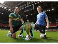5 Northampton Saints vs Leinster Rugby 9/12/16 tickets