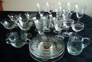 Crystal Glassware for Next to Nothing