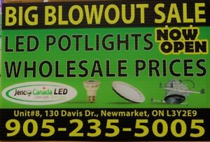 CONTRACTOR SPECIAL ELECTRICAL!!! LED SLIM PANELS, LIGHTS, BULBS