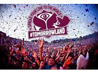 2 TOMORROWLAND 2017 TICKETS - FULL MADNESS - CLOSING WEEKEND WITH CAMPING!!!