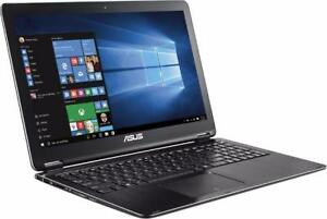 "ASUS Q503U 15.6"" TouchScreen Convertible 2 in 1 Intel i5 -6200U turbo 2.8GHZ, 12GB 1TB + Mc Office PRO"