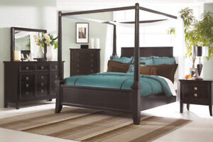 CANOPY BEDFRAME - MOVING!! MUST GO