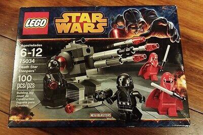 LEGO STAR WARS Death Star Troopers Set 75034, NIB, FACTORY-SEALED