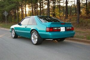 Aileron Ford Mustang 87-93 Hatchback