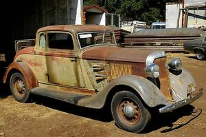 Looking for a 1934 Coupe Project Car