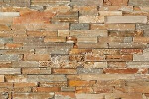 Real Stacked Multi Rustic Stone