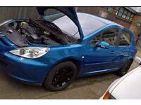 Peugeot 307 1.6 manual 54 plate very good car
