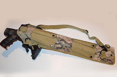 Shotgun Rifle Scabbard Multicam Camo MOLLE Tactical Sling Mossberg Remington