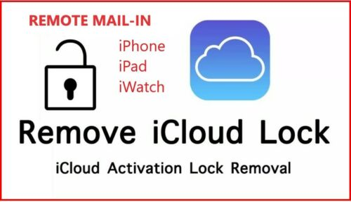 iPhone/iPad/iWatch iCloud Unlock/Removal Service REMOTE MAIL-IN