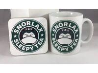Snorlax Mug & Coaster .