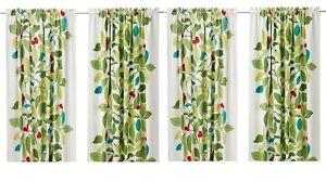 2pk Ikea Stockholm Blad Pair Of Curtains 4 Panels Linen