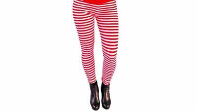 Leggins Damen Karnevalskostüm Rot Weiß Köln Ringelleggins Rot Blau Schwarz