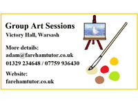 Group Art Sessions at Victory Hall, Wasash (resuming late September 2020)