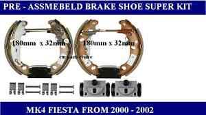 FOR FORD FIESTA 1.25 1.3 1.6 1.4 1.8TD BRAKE SHOE ADJUSTER WHEEL CYLINDER KIT