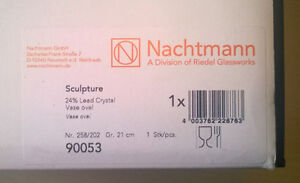 Two Nachtmann Crystal Vases, $100 OBO West Island Greater Montréal image 3