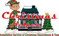 Christmas Helper - Installation of Christmas Decorations & Tree