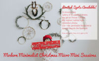 Christmas Mini Sessions November 25th - 26th Only