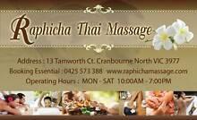 Raphicha Thai Massage Cranbourne Casey Area Preview