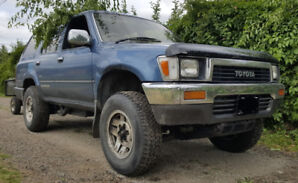 '91 Toyota 4Runner auto t  2L-TE (Hilux Surf)  SUV/truck trade?