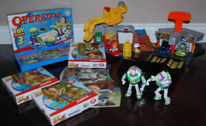 Fisher Price Little People Toy Story 3 toys, cars, game, puzzles
