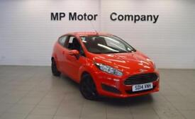 2014 14 FORD FIESTA 1.2 STYLE 59 BHP 3DR ECO NEWSHAPE HATCH, 34,000M, MOST SH,