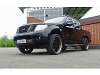 2013 Nissan Navara Double Cab Pick Up Tekna 2.5dCi 190 4WD With black pack an...