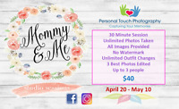 Mother's Day - Mommy & Me Session An awesome gift for yourself a