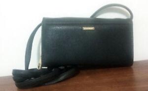 Club Rochelier Cross Body Wallet/Bag - Black - BRAND NEW