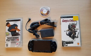 PSP 2001 Slim With Games and Memory and More!