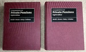 Fundamentals of Private Pensions   8th Ed. Kitchener / Waterloo Kitchener Area image 1