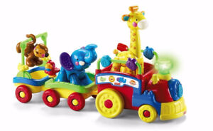 Train musical des animaux fisher price